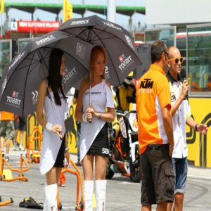 Grid / promotional girls
