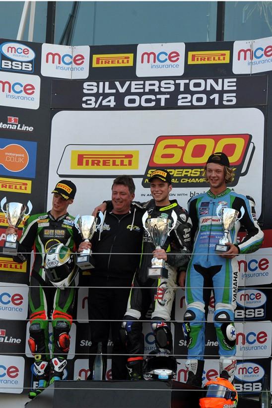 MCE BSB British Superbike Championship Rd 11 Silverstone 3-4 October 2015