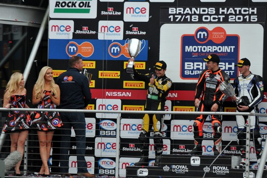 MCE BSB Championship Rd 12 Brands Hatch GP 17-18 October 2015